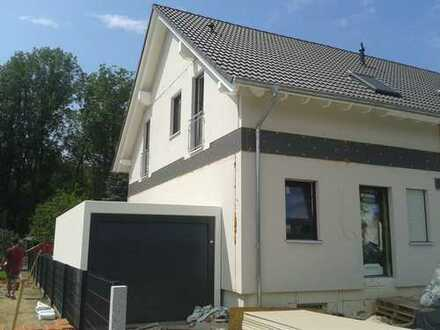 Gibt's nicht Schöneres als Eigenes!Neue DHH mit fünf Zimmern in Augsburg (Kreis), Langweid am Lech