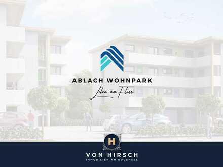 (VERKAUFT) ABLACH WOHNPARK - Leben am Fluss in 49 Neubauwohnungen mit Baugenehmigung