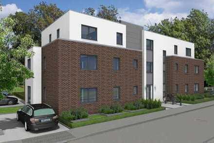 Großzügige EG-Wohnung in ausgezeichneter Lage -Neubau nach KfW 55 Standard- 6/7 WE verkauft