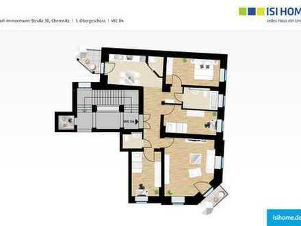Erstbezug- Großzügig geschnittene 4 Zimmer Wohnung mit Balkon