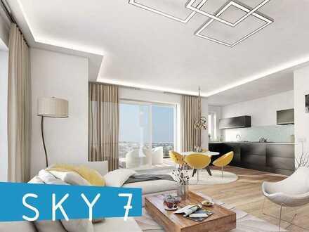 SKY 7 EG-Ebene sonnige 2-Zi Wohnung mit Balkon