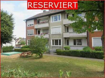 Gepflegte Eigentumswohnung im Erdgeschoss mit Tageslichtbad und Balkon in Hagen- Vorhalle