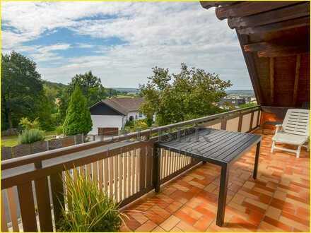 ***140m²- 5-Zi.-DG-Whg. mit 2 Balkonen in Top Feldrandlage, GN-Meerholz