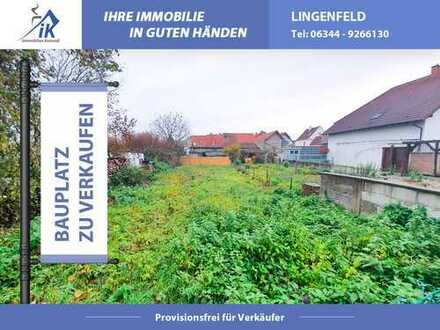 +++ Reserviert +++Feldrandlage: Baugrundstück in Römerberg - Berghausen