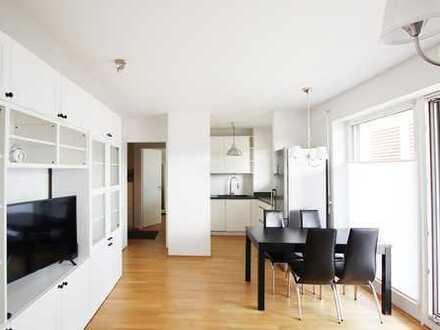 Stilvolle 3-Zimmer-Wohnung mit großem Balkon - ohne Möbel