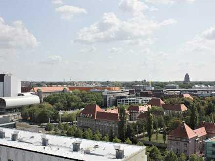 Schicke 3- Zimmer-City-Wohnung im Taro Tower ***Leipzig Zentrum Süd-Ost***Aufzug***renoviert!