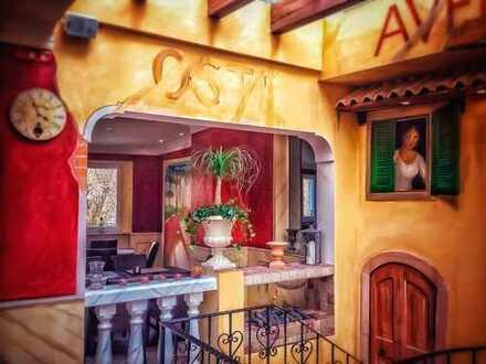 Etabliertes italienisches Restaurant mit mediterranem Flair