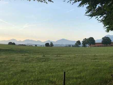Bieterverfahren! Freizeitgrundstück bei 82418 Murnau idyllische Lage mit Alpenblick