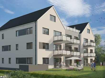 RESERVIERT-3,5 Zimmer-Maisonetten Wohnung, Balkon und Dachterrasse mit herrlichem Alpenblick