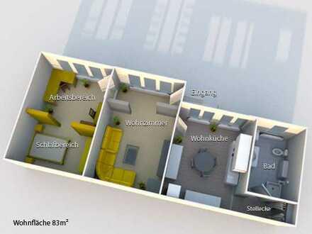 Große 2 ZKB Wohnung in Mz-Gonsenheim