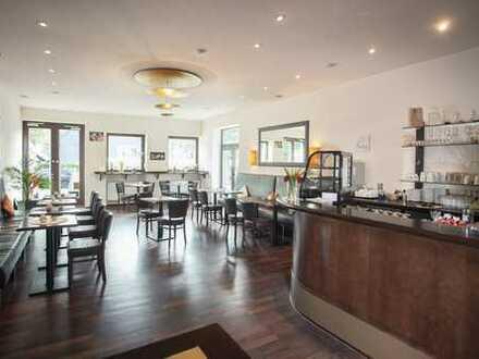 Günstiges, schönes komplett ausgestattetes Cafe/Restaurant mit Terrasse in Freudenberg