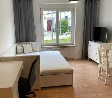Möbliertes Appartement in Haunstetten ab sofort zu vermieten!
