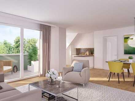 Wunderschöne 2-Zimmer-Wohnung in bester Umgebung - völlig urban und doch herrlich grün