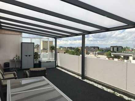 Penthouse-Wohnung auf dem Haidach 86 qm Wohn, 86 qm Terrassen + TG-Stellplatz