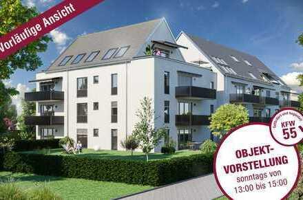 ACHTUNG KAPITALANLEGER! Provisionsfrei! Neubau in Göggingen - exkl. 2 Zi-Whg. + TG! zentraler Lage!