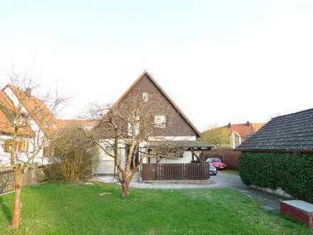5-Zimmer-Einfamilienhaus mit Nebengebäude und großem Grundstück in Petershausen