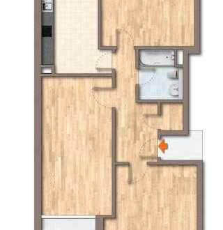 Wohnen in unmittelbarer Seenähe // 3 Zimmer Wohnung mit BALKON