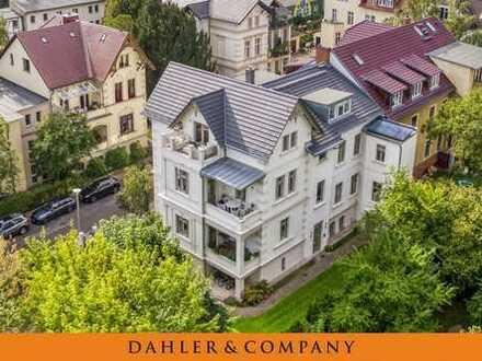 Die Stadtvilla vereint Klassik & Moderne Am Neuen Garten