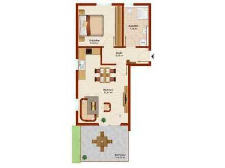 2 Zimmer-ETW - Neubau! KfW 55 - Wohnen am Wasserwerk - Provisionsfrei
