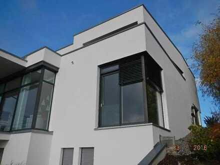 Exklusives Anwesen im Bauhausstil mit Garten