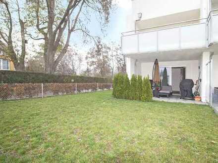 Spektakuläre 2-Zimmer-Neubauwohnung umgeben von einem großflächigen Privatgarten