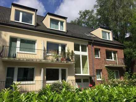 Gemütliche 2 Zimmer Hochparterre-Wohnung mit 2 Balkonen
