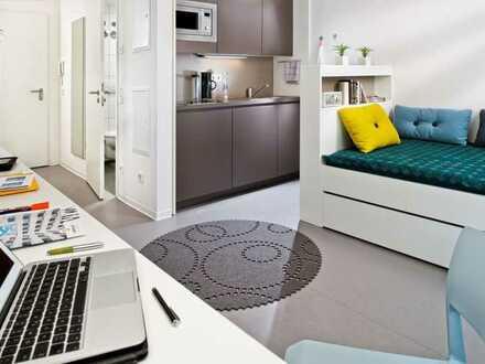 Modern möbliertes Apartments in der Heidelberger Bahnstadt