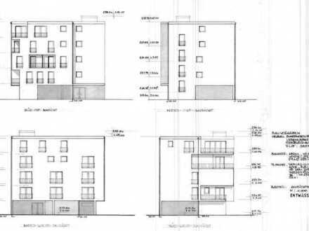 BAUGRUNDSTÜCK MIT BAUGENEHMIGUNG FÜR BOARDINGHAUS / HOTEL - 12 APARTMENTS + 200m² EINLIEGERWOHNUNG