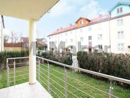 Ideale Kapitalanlage: Sanierte 3-Zi.-ETW mit Südbalkon, eigenem Garten und EBK in Schongau