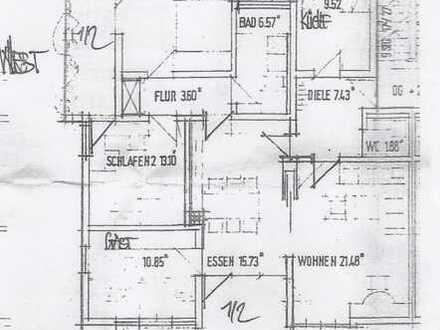 Exklusive, vollständig renovierte 4-Zimmer-Wohnung mit Balkon und Einbauküche in Neckarsulm