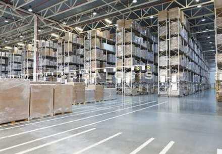 NEUBAU/PROVISIONSFREI: Ca. 20.000 qm Lager / Logistik | ca. 12,00 m UKB | Rampe + ebenerdig