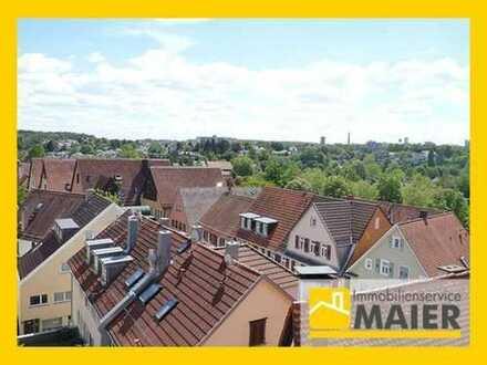 Über den Dächern von Bietigheim-Traumhafte Maisonettewohnung mit TG-Stellplatz!