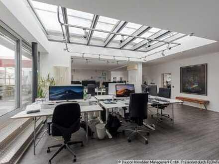 Kölner-Südstadt! Helle und moderne Büroeinheit mit Dachterrasse und Stellplätzen
