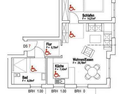 ++ NEUBAU! Gemütliche 2 ZKBBalkon Wohnung im 1.OG in bevorzugter und ruhiger Wohnlage! ++