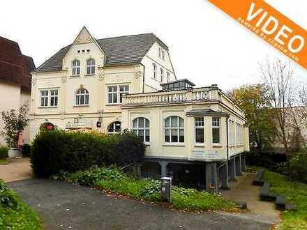 Hochwertige Wohnung im Jugendstilhaus mit gr. Dachterrasse an den Ruhrauen von Herdecke zu vermieten