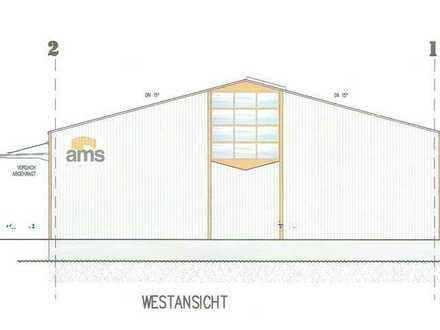 Im Alleinauftrag - A8_Große Halle 60 x 20m, 2.800 qm Grund und Baurecht für ein EFH