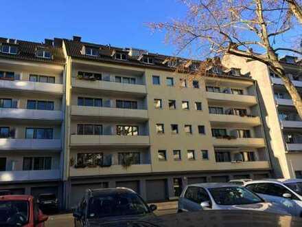 möbliert! N. Belgisches 1/4, WG-taugliche, ruhige 3 Z W, 2 Balkone, Einbauküche