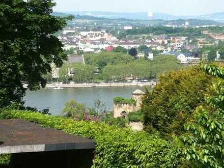 Haus mit atemberaubendem Blick auf Altstadt, Rhein und Festung Ehrenbreitstein