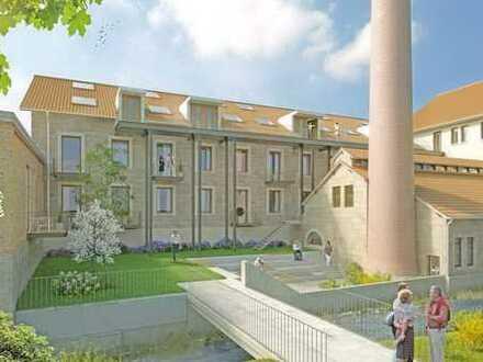 Spannender Dialog zwischen Historie und Moderne: Exlusive 3-Zimmer-Wohnung mit Terrasse