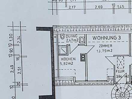 helle 1-Zimmer-Wohnung in Coburg