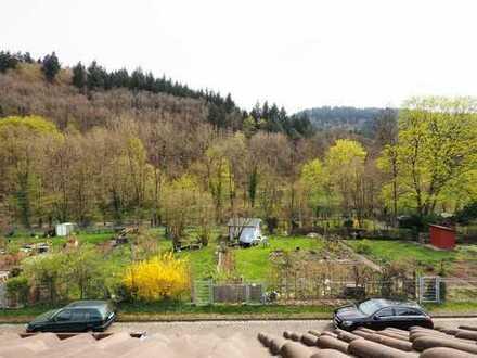 FREIBURG-WIEHRE: Maisonette-Wohnung am Sternwald mit Blick über die Schrebergärten