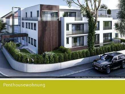 Dachterrassentraum für Zwei - exklusive Penthousewohnung -