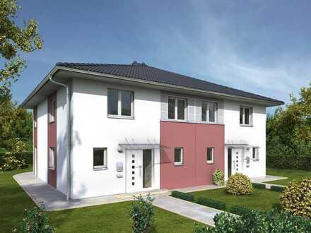Wunderschöne Stadtvilla - Doppelhaushälfte inkl. Keller und Grundstück in Sailauf