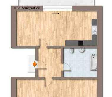 Bild_2-Zimmer-DG-Wohnung mit Balkon im Stadtzentrum