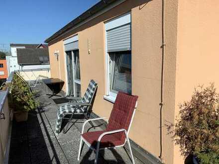 Vermietete 2-Zimmer-Dachgeschosswohnung mit großzügigem Balkon