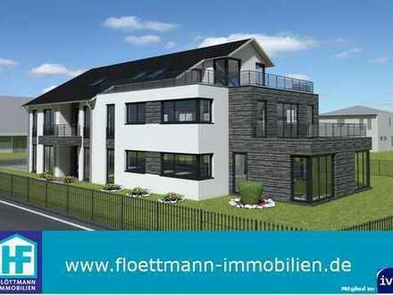 4 Zimmer-Neubau-Erdgeschosswohnung mit großer Terrasse und Privatgarten in Bielefeld-Senne