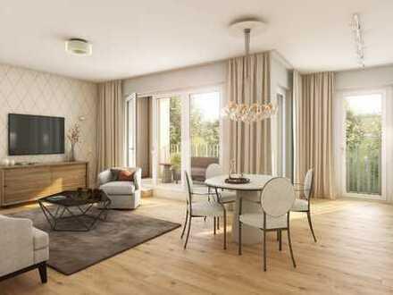 Wohlfühlatmosphäre ganz nah. 4-Zimmer Wohnung mit zwei Terrassen