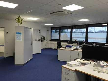 Renovierte ebenerdige ca.351m² Bürofläche + ca.50m² Lager und Stellplät
