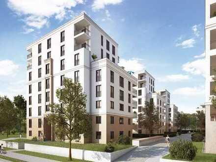 Urbanes Wohnen in toller Lage Frankfurts! Modernes 1-Zimmer-Appartement mit großem Süd-Balkon