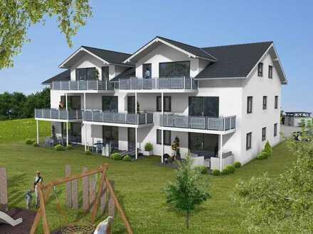 wunderschöne Neubau Wohnung mit großem Balkon